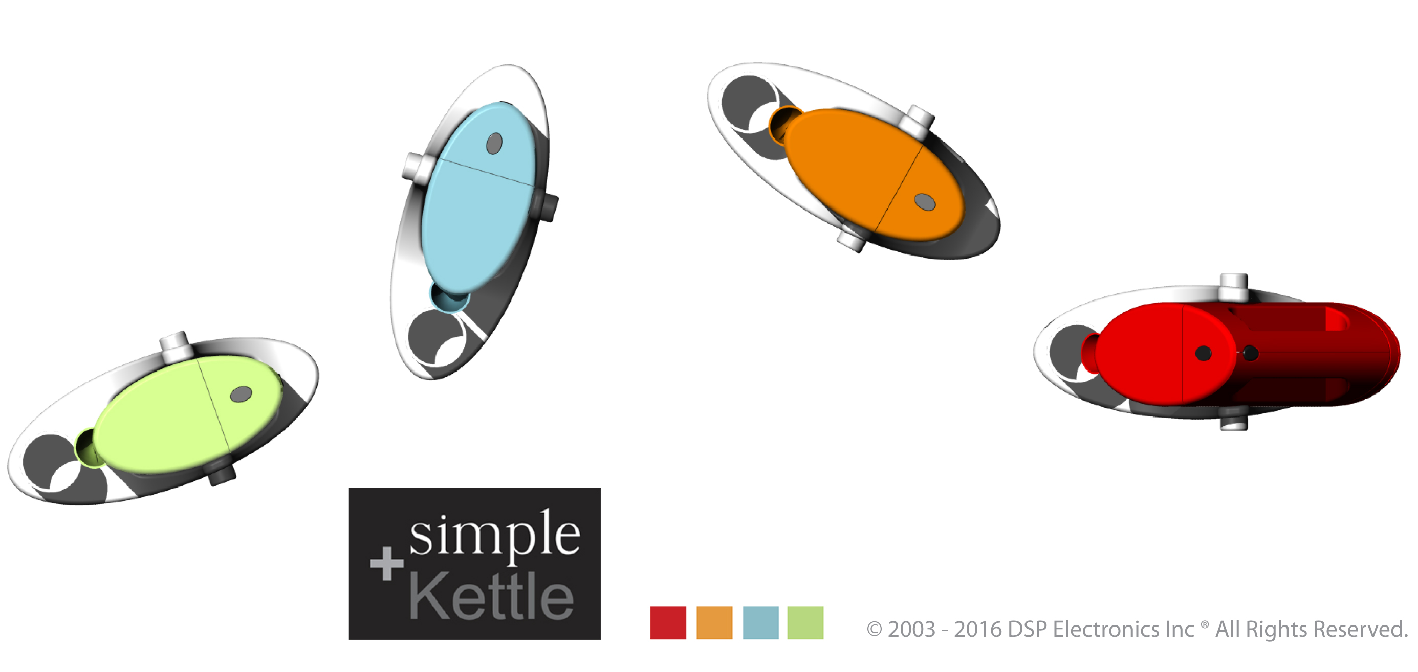 simple + kettle DSP Electronics Inc design innovation creative industrial design dspelectronics.com software hardware firmware IoT